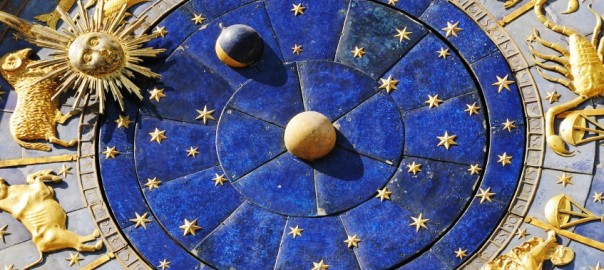 astrological clock in Piazza San Marco, Venice