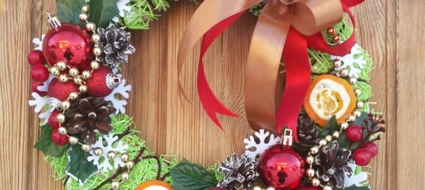 создание рождественского венка