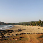 kudle-beach-gokarna-sunset