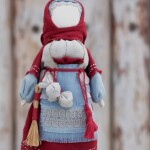 Кукла Коляда - символ благополучия и оберег дома